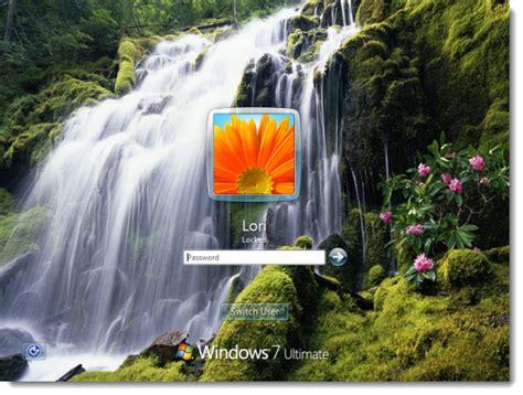 Cambiar el fondo de la pantalla de ingreso en Windows 7 ...