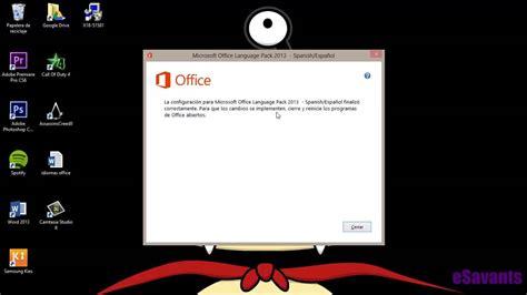Cambiar el idioma de Microsoft Office: word de inglés a ...