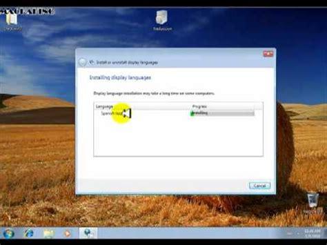 cambiar el idioma de windows 7   YouTube