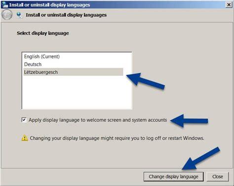 Cambiar el idioma en Windows 7: instalar paquetes de ...
