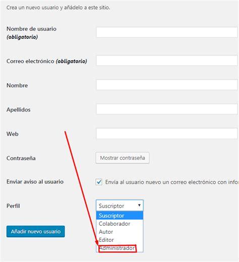 Cambiar el nombre del administrador de Wordpress ...