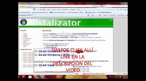 cambiar idioma a windows 7 home premium y home basic   YouTube