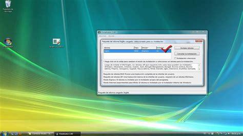 Cambiar Idioma de Windows Vista   YouTube