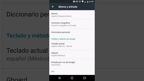 Cambiar idioma del teclado en Android o tener varios ...