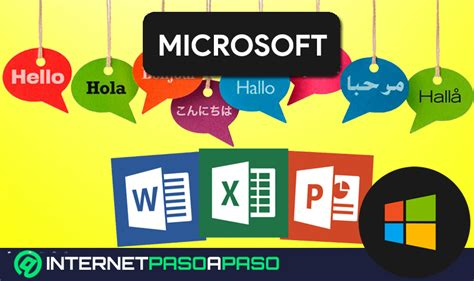CAMBIAR Idioma en Office 365 】 Word   Excel   Power Point 2019