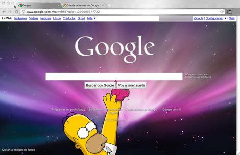 cambiar imgen de fondo de google rapido y facil   Taringa!