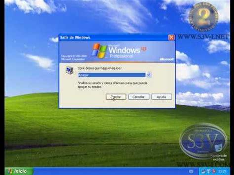 Cambiar la forma en que Windows Xp inicia sesión   YouTube