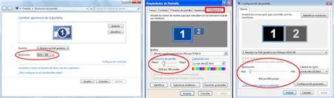 Cambiar y ver resolución de pantalla en Windows 7, 8 u 8.1