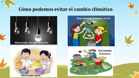 Cambio climatico . en grupo