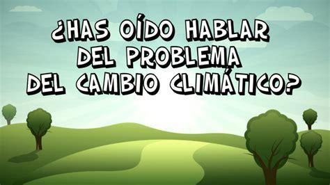CAMBIO CLIMÁTICO – RINCONEANDOENPRIMARIA