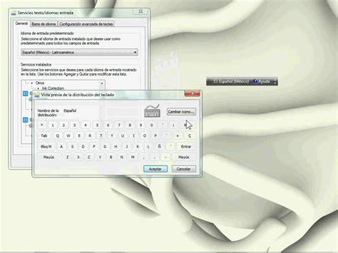 Cambio de idioma y configuración de teclado   YouTube