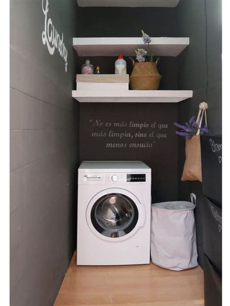 Cambio radical de un lavadero pequeño · LEROY MERLIN