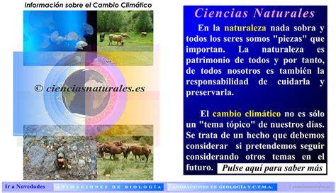 Cambioclimatico | cienciasnaturales.es de José Antonio ...