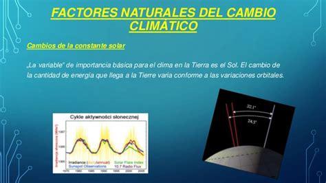 Cambios climaticos y la proteccion de la naturaleza