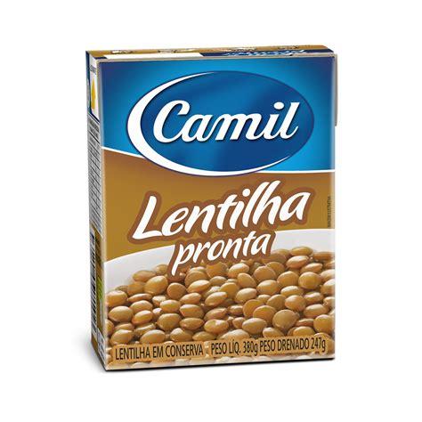Camil   Grãos   Pronto   LENTILHA PRONTO CAMIL