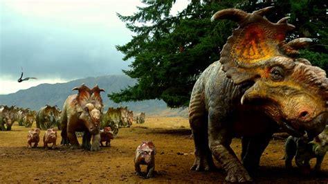 Caminando entre Dinosaurios 3D   YouTube