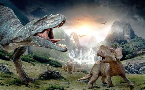 Caminando entre dinosaurios | Fondo de pantalla 2880x1800 ...