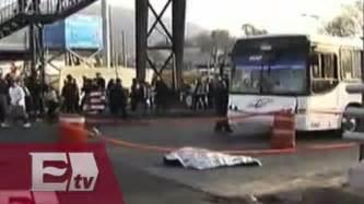 Camión atropella a mujer de la tercera edad en paradero ...