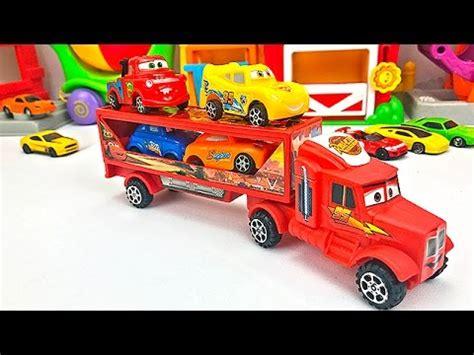 Camión Transportador de Autos para Niños   Cars de Colores ...