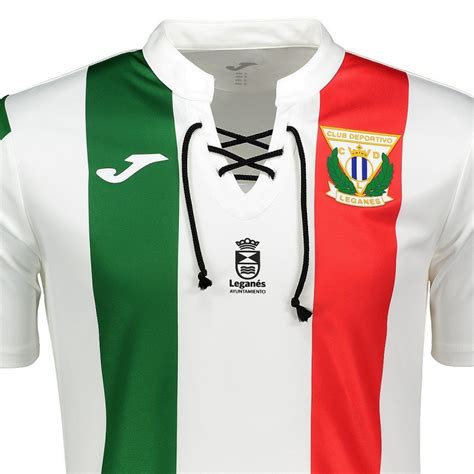 Camiseta de futbol CD Leganes segunda 2018/19   Joma ...