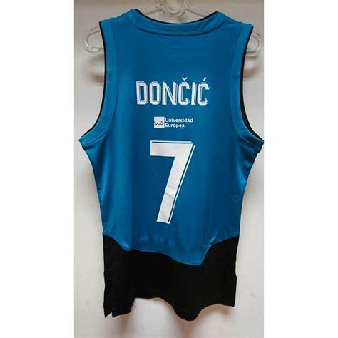 Camiseta del Real Madrid de baloncesto de Luka Doncic para ...
