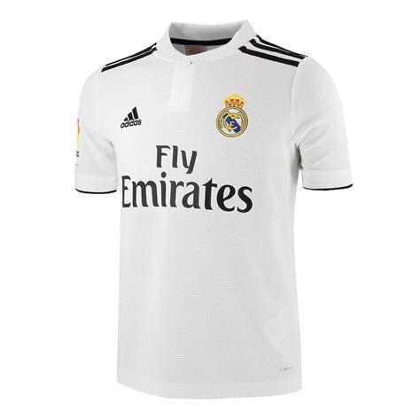 Camiseta niño 1a Real Madrid 18 19 LFP | futbolmaniaKids
