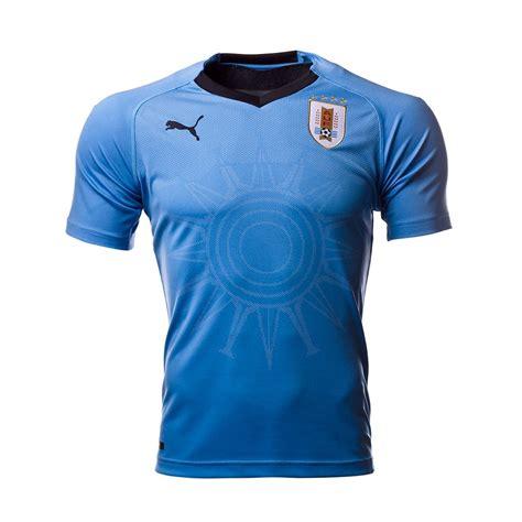 Camiseta Puma Uruguay Primera Equipación 2017 2018 Silver ...