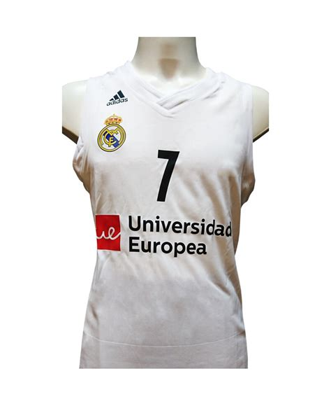 Camiseta Real Madrid baloncesto de Campazzo para el 2019 ...