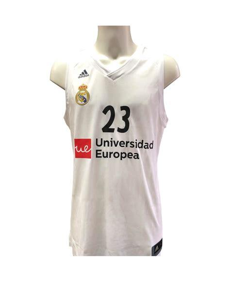 Camiseta Real Madrid baloncesto de Sergio Llull para el ...