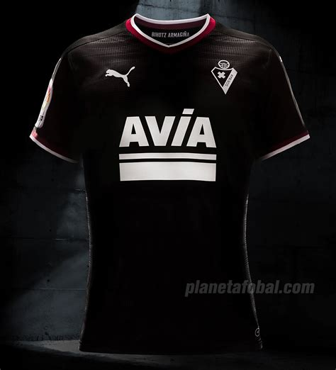 Camiseta suplente Puma del SD Eibar 2017/18