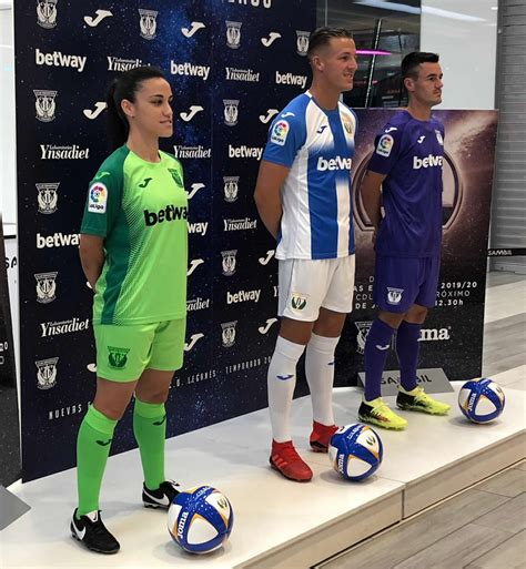 Camisetas alternativas Joma del CD Leganés 2019/20
