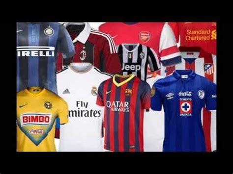 Camisetas De Futbol Del Mundo  Incluyendo Liga MX  2013 ...