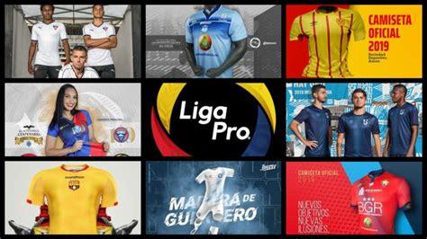 Camisetas Liga Pro Ecuador 2019   Review   CDC