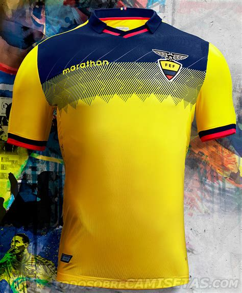 Camisetas Marathon de Ecuador Copa América 2019