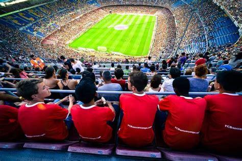 Campamentos de Futbol de FC Barcelona en Barcelona