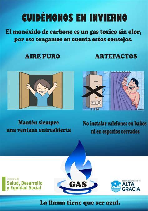 Campaña de prevención por intoxicación con monóxido de ...