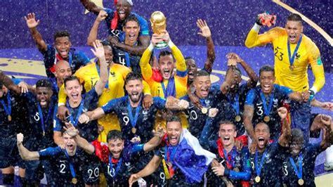 Campeón del Mundial Rusia 2018: Francia venció 4 2 a ...