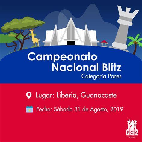 CAMPEONATO NACIONAL BLITZ DE CATEGORÍAS MENORES | FCA ...