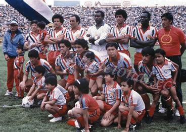 Campeonato Nacional de Fútbol 1986 | El blog de mi fútbol ...