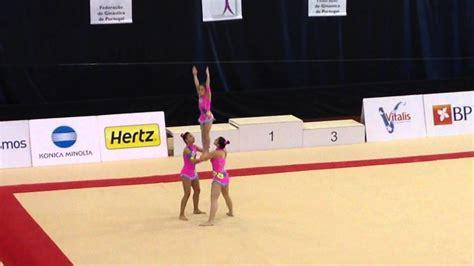 Campeonato nacional de ginástica acrobática 2015  grupo ...