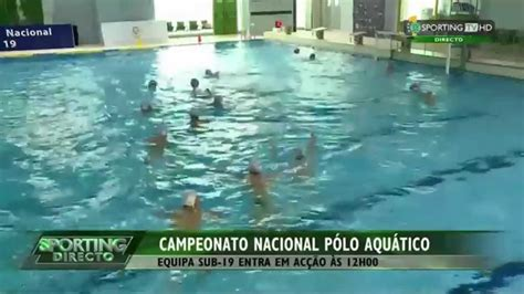 Campeonato Nacional Sub 19 de Polo Aquático SCP vs GDSC ...