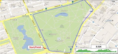 Can any Boston runners help me set a running route map ...