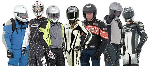 Can choosing motorcycle clothing be made easier?   FEMA