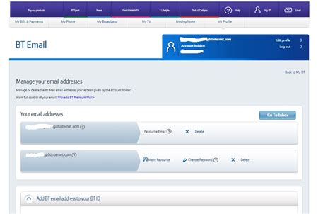 Can No Longer Change BT Yahoo Email Password   BT Community