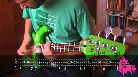 Can t Stop bass TAB Red Hot Chili Peppers   YouTube