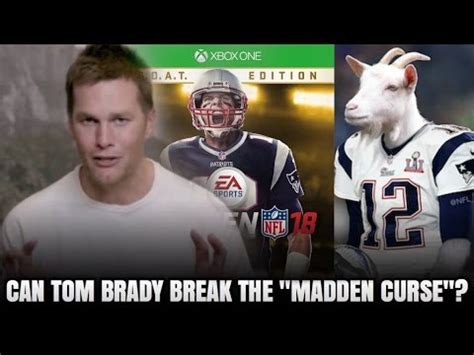 CAN TOM BRADY BREAK THE MADDEN CURSE?! OR WILL HE FALL ...