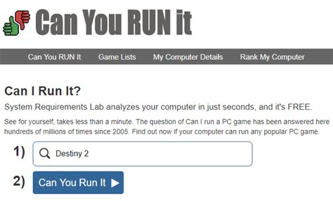 Can You Run It? Find PC Games Your Computer Can Handle
