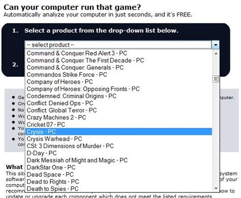 Can Your Computer Run that Game? | PCTechNotes :: PC Tips ...