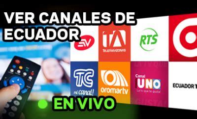 Canales de Tv de Ecuador en vivo