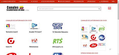 Canales Ecuatorianos en vivo , Teleamazonas en vivo ...